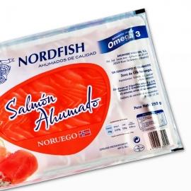 Salmón Noruego Ahumado Sobre 500 gr